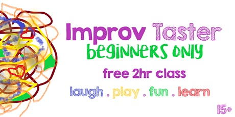 FREE Online Improv Taster June 7th tickets