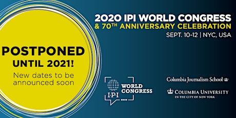 IPI World Congress 2020 tickets