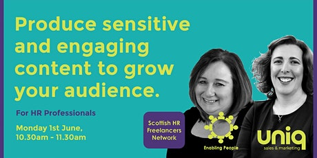 Produce sensitive and engaging content to grow your audience. tickets