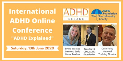 """International ADHD Online Conference: """"ADHD Explained"""""""