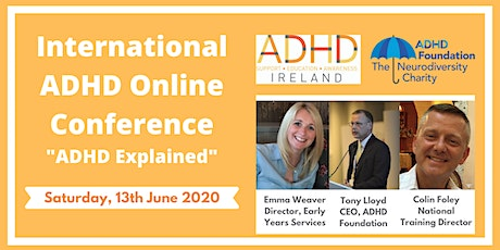 "International ADHD Online Conference: ""ADHD Explained"" tickets"