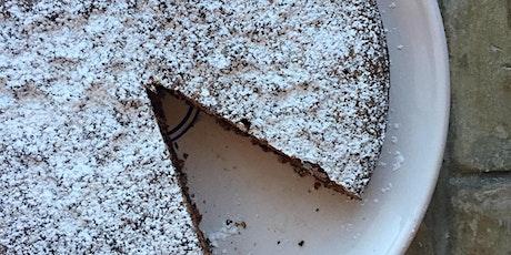Online Cooking: Chocolate & Almond Cake (Gluten-Free) tickets