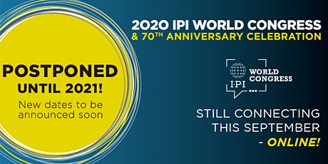 IPI World Congress 2020 >>> 2021  tickets