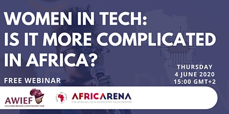 Women in Tech: Is it more complicated in Africa? tickets