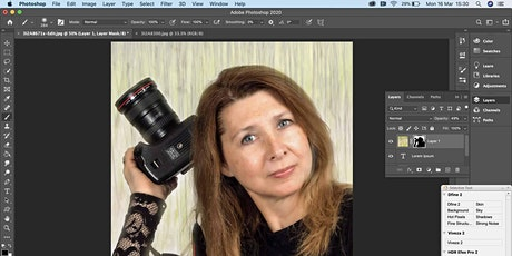 Adobe Photoshop Editing Workshop for Mastering Layers tickets