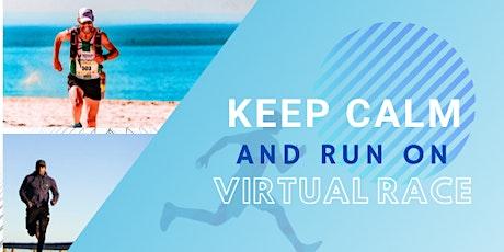Keep Calm and Run On Virtual Race 5K/10K/Half-Marathon  tickets