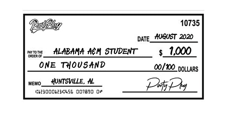 Party Plug Alabama A&M  Scholarship Giveaway tickets