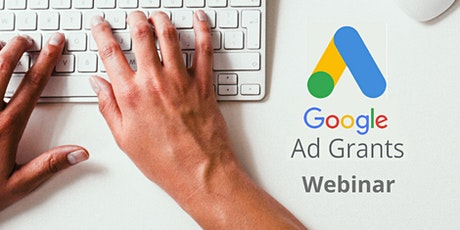 Webinar gratuito Google Ad Grants entradas