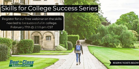 Essential Skills for College Success - For Middle and High School Students tickets