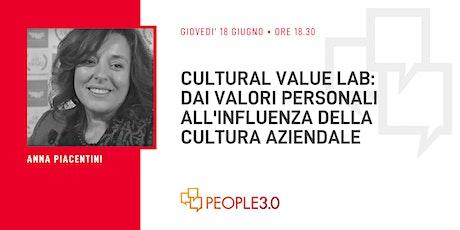 Cultural Value Lab biglietti