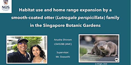 The Otter Side of The Singapore Botanic Gardens tickets
