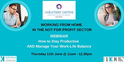 Working From Home in the non-profit sector