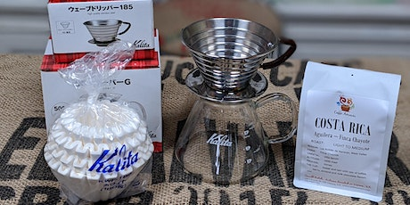 Brew Coffee at Home: Kalita Wave (Virtual Class) tickets