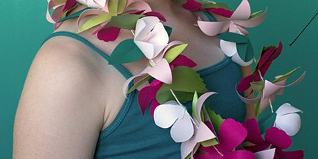 Summer flower garland making. Online event. Receive your kit in the post! tickets