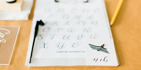 Intro to Modern Calligraphy with Claire White 7.25.20 tickets