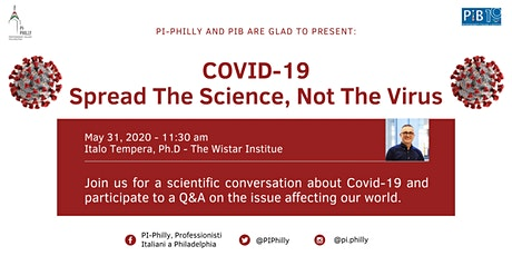 COVID-19: Spread The Science, Not The Virus tickets