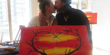 Virtual Date Night  Paint and Sip tickets
