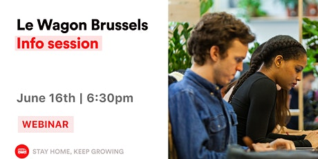 Le Wagon Brussels Info Session tickets