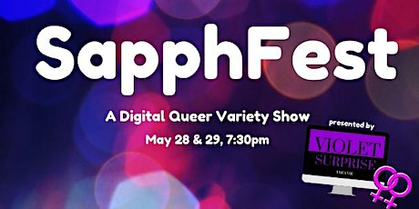 SapphFest: A Virtual Queer Cabaret tickets