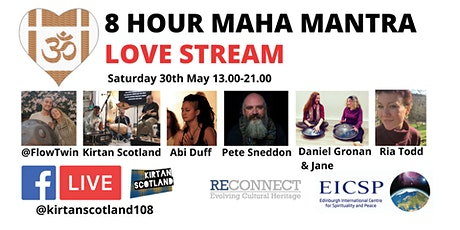 8 Hour Maha Mantra Love Stream tickets