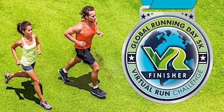 2020 Global Running Day Free Virtual 5k - Riverside tickets