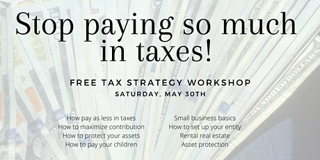 STOP Overpaying In TAXES!! tickets