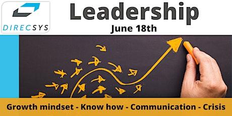 12 Weekly webinars - Leadership tickets