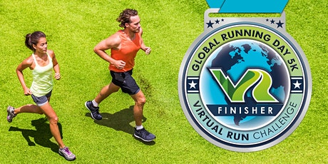 2020 Global Running Day Free Virtual 5k - Mobile tickets
