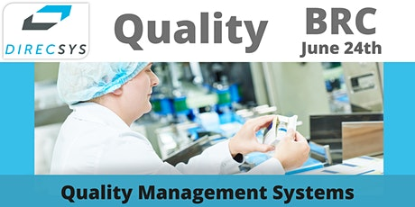 12 Weekly webinars - BRC Quality Management Systems tickets