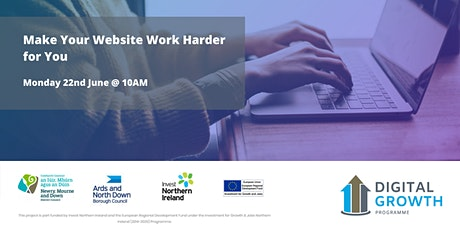 Make Your Website Work Harder for You tickets