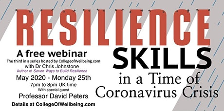 Free Webinar - Resilience Skills in a Time of Coronavirus Crisis tickets