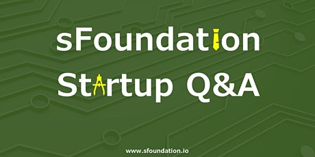 sFoundation Startup Q&A - Startups and Sustainability tickets