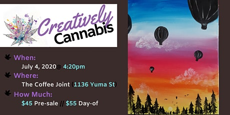 Creatively Cannabis: Tokes and Brushstrokes @ The Coffee Joint (7/4/20) tickets