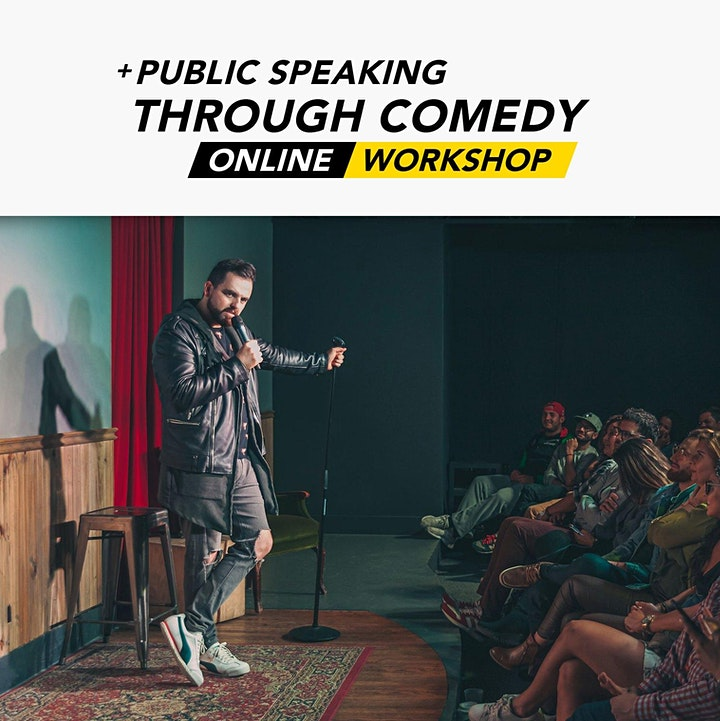Public Speaking through Comedy | Level 1 | Online Workshop image