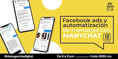 Todo sobre ManyChat Chat bots para tu Negocio en Facebook entradas