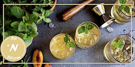 SIP 'N BLOOM - Herb Garden Cocktail Kit tickets
