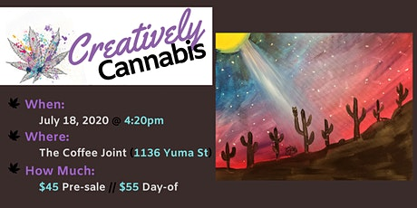 Creatively Cannabis: Tokes and Brushstrokes @ The Coffee Joint (7/18/20) tickets