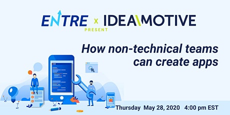 Virtual Workshop: How non-technical teams can create apps tickets
