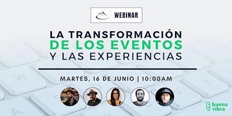 SME Webinar: La transformación de los eventos y las experiencias entradas