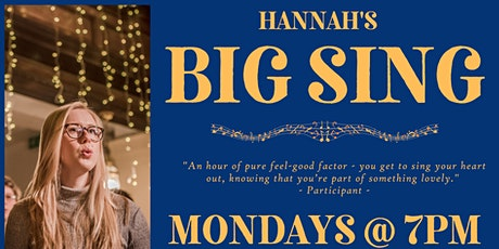 Hannah's Big Sing tickets