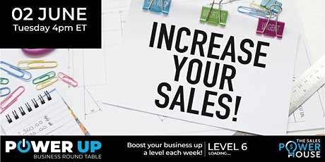 SPH POWER UP Roundtable - Drive your sales to success! tickets
