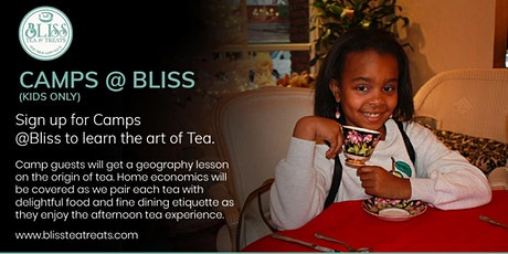 Tea Time Camp @ Bliss tickets