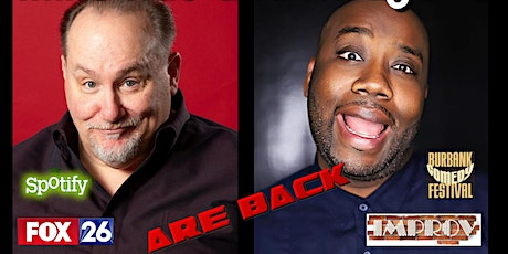 Mike Rao and Ku Egenti are back at Comics Live! tickets