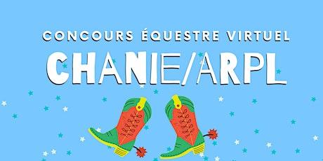 LA LONGE - Concours Équestre Virtuel Chanie/ ARPL billets