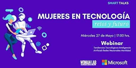Mujeres en Tecnología Retos y Futuro entradas