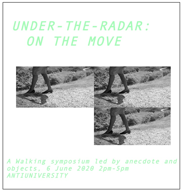Under-the-radar : on the move (ANTIUNIVERSITY) image