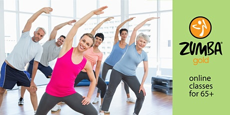 Zumba Gold class for 65+ and beginners tickets