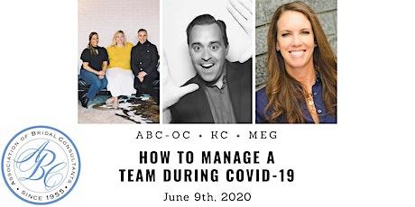 ABC-OC Virtual Educational Zoom Meeting tickets
