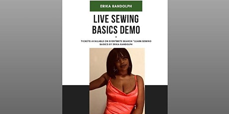 Learn Sewing Basics Live Demo tickets