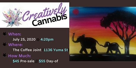 Creatively Cannabis: Tokes and Brushstrokes @ The Coffee Joint (7/25/20) tickets